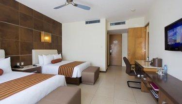 Suite dupla Hotel Krystal Urban Cancún Cancún