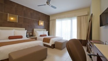Quarto duplo standard Hotel Krystal Urban Cancún Cancún