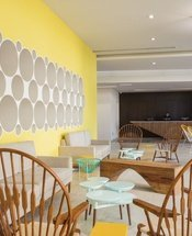 Recepção Hotel Krystal Urban Cancún Cancún